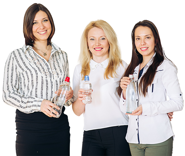 Cheap water bottles image