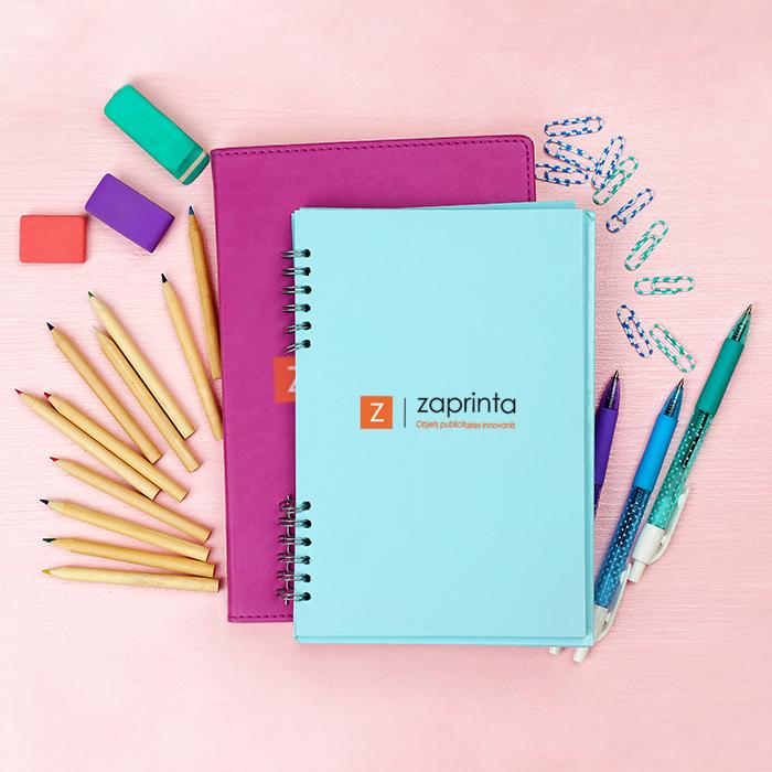 Bloc-notes, carnets et cahiers personnalisés
