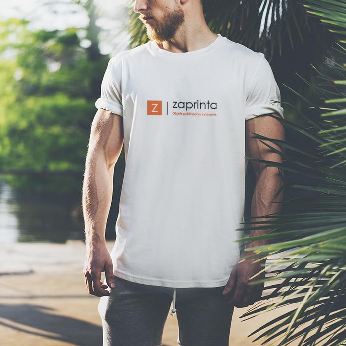 T shirt personnalisé homme