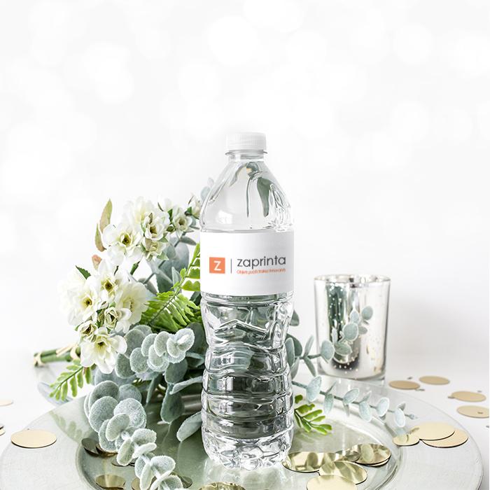 Bouteille d'eau personnalisée pour mariage