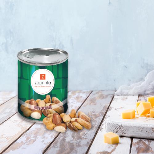 chips et cacahuètes personnalisées